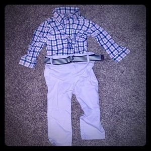 The children place outfit baby boy 9-12 months